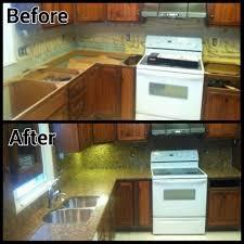 Granite Countertops Kitchen Santa Cecilia Granite Countertops Installation Kitchen