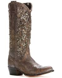 zoomed image frye women s deborah studded tall boots round toe grey hi res