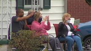 Clients surprise Salem hairstylist home from cancer treatment | WKBN.com