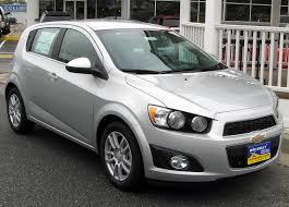 File:2012 Chevrolet Sonic 1LT hatchback -- 10-19-2011 front 2.jpg ...