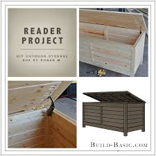 build basic diy outdoor storage box by ronan m reader project