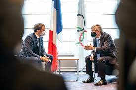 طوكيو 2021: الرئيس الفرنسي في العاصمة اليابانية لحضور حفل افتتاح الأولمبياد