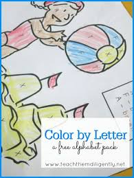 Cursive designs with 26 letters. Free Color By Letter Alphabet Pack