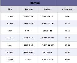 Oneal Helmet Size Chart How To Measure Your Head For Different Helmet Sizes