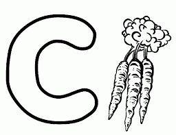 Small Picture Carrot Is From C Coloring Pages Alphabet Alphabet Coloring pages