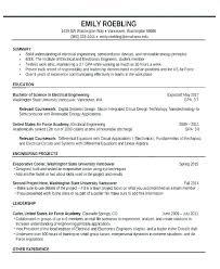 Electrical Engineer Resume Format Putasgae Impressive Electrical Engineering Resume