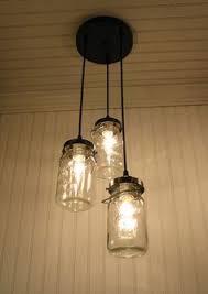 ball jar lighting. ball jar chandelier made from canning jars must add to my lights lighting