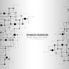 抽象的な技術設計ライン 背景 無料ダウンロード 愛らしい背景 イラスト