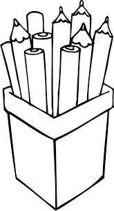 Small Picture Pencils Coloring Page Coloring Home