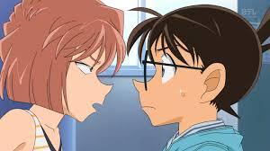 Conan Edogawa and Ai Haibara