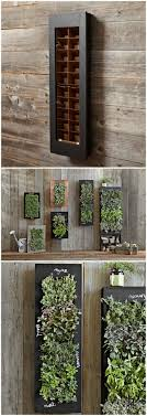 RECTANGULAR CHALKBOARD WALL PLANTER - Bring your wall to life with a  stunning vertical herb garden