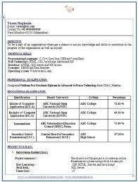 Resume Samples For Freshers Bca Resume Ixiplay Free Resume Samples