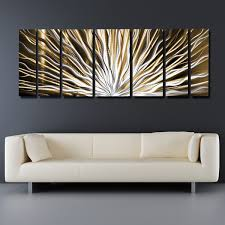 Contemporary Wall Art Modern Art Contemporary Abstract Metal Wall Sculpture  Work Painting Large Decor
