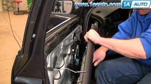 how to install replace remove front drivers door panel vw how to install replace remove front drivers door panel 98 01 vw passat 1aauto com