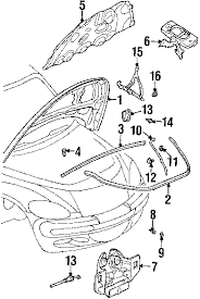 2003 pt cruiser parts diagram diagram parts com chrysler silencer hood partnumber 4724800ac authorize authorize 2003 chrysler pt cruiser parts mopar for dodge description pt engine diagram