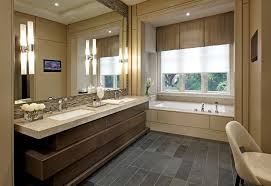 bathroom large contemporary master bathroom idea in toronto with an undermount sink beige tile an undermount captivating bathroom lighting ideas