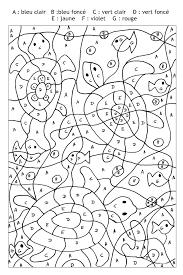 Coloriage Magique Avec Dessin De Lapin A Imprimer L L L L L L
