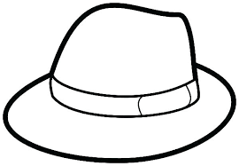 Hat Coloring Pages Cowboy Books And