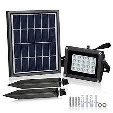 t sun motion sensor flood light 10w led pir floodlights daylight white 6000k
