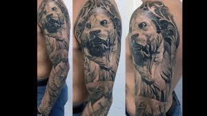 тату статуя льва 40 татуировок с изображением статуй львов