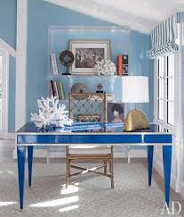 office room diy decoration blue. Coastal Office Decor. 30 Inspiring And Beach-Inspired Home Offices Room Diy Decoration Blue G