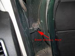 VWVortex.com - DIY - removing/replacing the front and rear doors ...