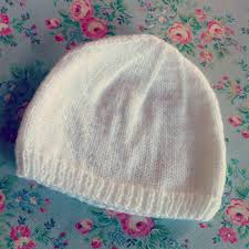 Easy Baby Hat Knitting Pattern For Beginners