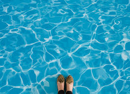 pool i water effect flooring blue feet vinyl