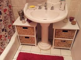 organize the space under the bathroom sink small bathroom storage and apartments