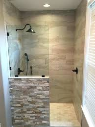 showers half glass shower wall elegant enclosure modern awesome exclusive door image than seal
