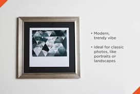Types of picture framing Wooden Metallic Frame On Wall Shutterfly How To Choose The Perfect Picture Frame Shutterfly