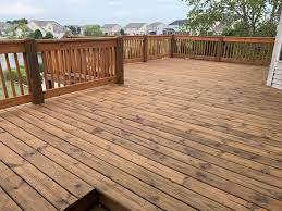 how much deck stain should i