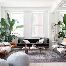 Pantone Greenery Interior Indoor Plants Bohemian Antique Rug Decor Design Trends 2017