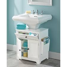 bathroom storage under sink. The Pedestal Sink Storage Cabinet Bathroom Under