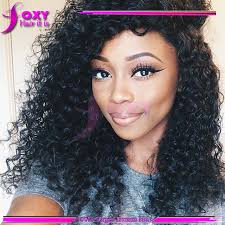 peruvian human hair lace front wigs black women short curly full lace wig with bangs 150 density side part wig