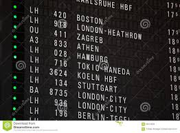 Stansted Charts Departure Chart At The Airport Stock Photo Image Of