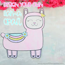 Free printable coloring pages for children that you can print out and color. Mix And Match Llama Coloring Page Craft Messy Little Monster