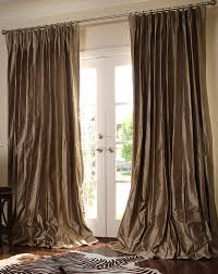 ... Why You Need Draperies For Living Room : Luxurious Living Room Decor  Idea With Long Brown ...