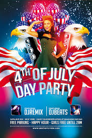 Free Flyer Template Download 4th July Poster And Flyer Psd Template Download Free Flyer