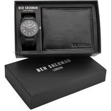 men s ben sherman london wallet gift set watch wb050bb g watch mens ben sherman london wallet gift set watch wb050bb g
