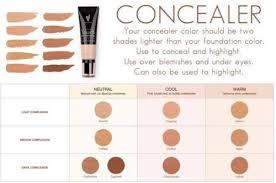 Concealer Color Chart Younique Presenter