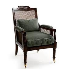Becca stool bamboo furniture modern bamboo Royal Blue Gramercy Chair Jasper Furniture Chairish Furniture