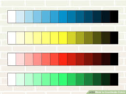 3 Ways To Coordinate Colors Wikihow