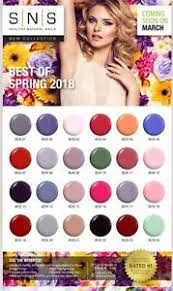 Details About Sns Nail Color Dipping Powder New Spring Collection Bos Nos Free Shipping