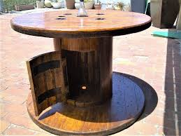 customized cable reel table