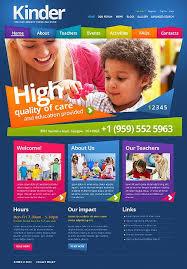 Kids School Website Template Primary School Drupal Template 43465 School Website