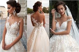 The Most Hottest Milla Nova 2016 Wedding Dresses Deer Pearl Flowers
