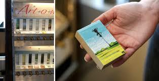 Artomatic Vending Machine Cool Habit Of Art Vending Machines That Dispense Art