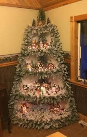 Christmas Tree Village Display Stands 100 Unique Christmas Village Display Ideas On Pinterest regarding 16