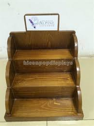 E Liquid Display Stand Wood Cosmetic Display Stand For E Liquid Juice Bottles 54